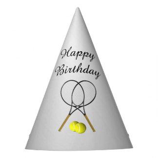 Tennis Sport Theme Birthday Party Hat