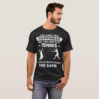 Tennis T-Shirt Funny Play Tennis Gift Tee