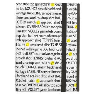 Tennis Terms iPad Case