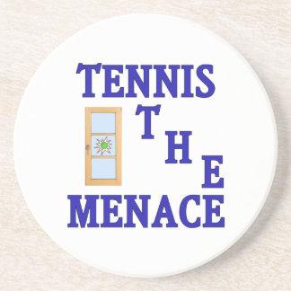 Tennis the Menace Window Coasters