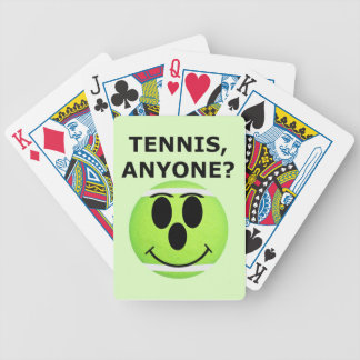 Tennis Theme Bicycle Playing Cards Decks