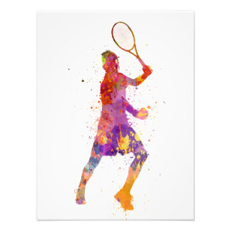 tennis to player celebrating in silhouette 01