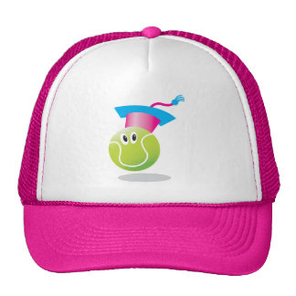 Tennis Tots Academy_Bouncee_pink & white Cap