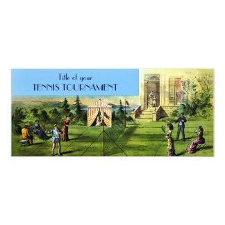 TENNIS Tournament or Tennis Match Invitations