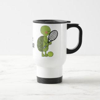 Tennis Turtle Travel mug