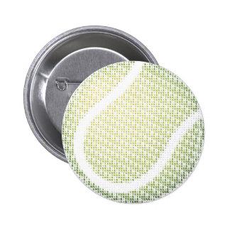 Tennis Typo Text Button
