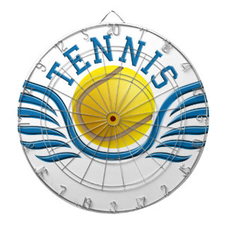 tennis wings dart board