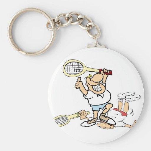 Tennis Winner Keychain