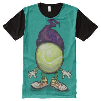 Tennis Wiz All-Over Print T-Shirt