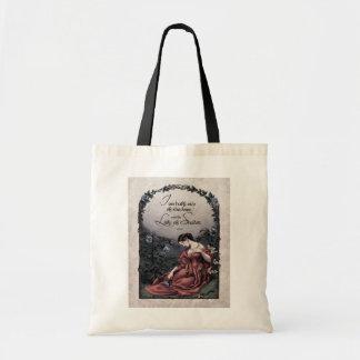 Tennyson Lady of Shalott Victorian Tote Bag