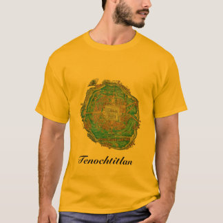 Tenochtitlan Map Shirt