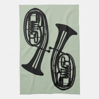 Tenor Horns Tea Towel