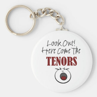 Tenor Key Ring