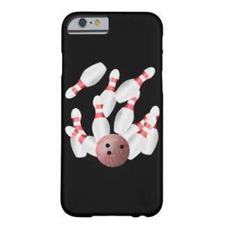 Tenpin bowling Pins and Bowling Ball Barely There iPhone 6 Case