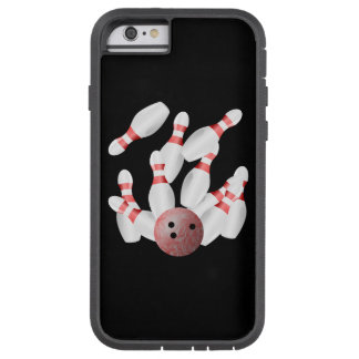 Tenpin bowling Pins and Bowling Ball Tough Xtreme iPhone 6 Case