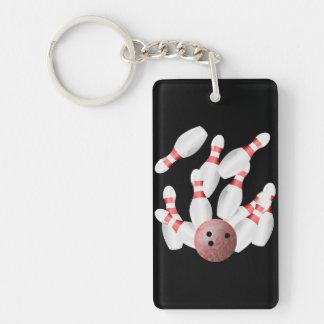 Tenpin bowling Strike Key Ring