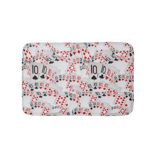 Tens  In A Layered Pattern, Memory Foam Bath Mat