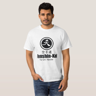 Tenshin-Kai Karate - Basic White T-Shirt