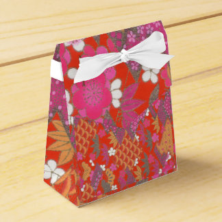 Tent Favour Box Japanese Print