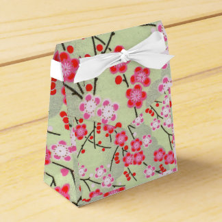 Tent Favour Box Japanese Print 2