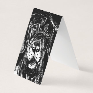 Tent folding folding maps Doggenzeichnung Card