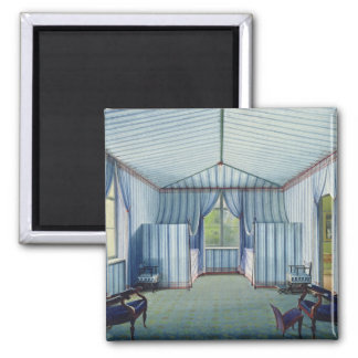 Tent Room, after 1830 Square Magnet