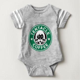 Tentacle Coffee Baby Bodysuit