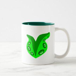 Tentacle Heart Two-Tone Mug