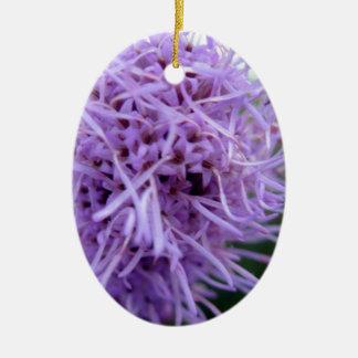 Tentacle Spider Violet Flower Ceramic Ornament