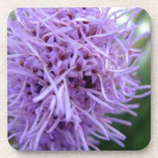 Tentacle Spider Violet Flower Coaster