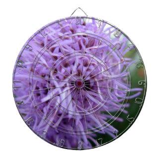 Tentacle Spider Violet Flower Dartboard