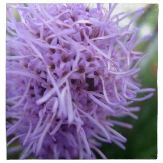 Tentacle Spider Violet Flower Napkin