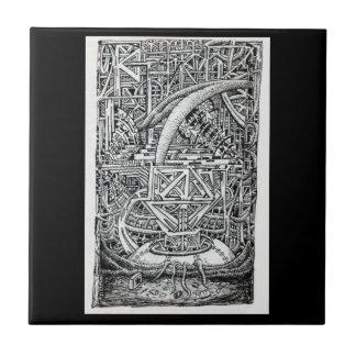 Tentacle Tank by Brian Benson Ceramic Tile