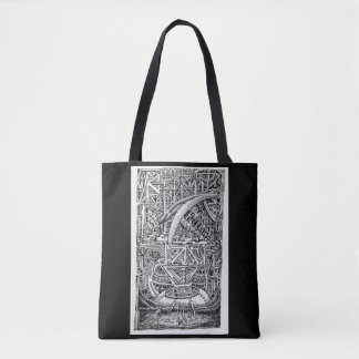 Tentacle Tank by Brian Benson Tote Bag
