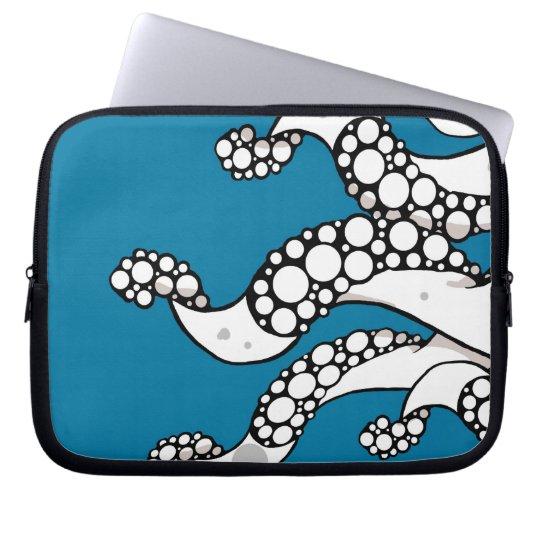 Tentacles (Blue) Laptop Sleeve