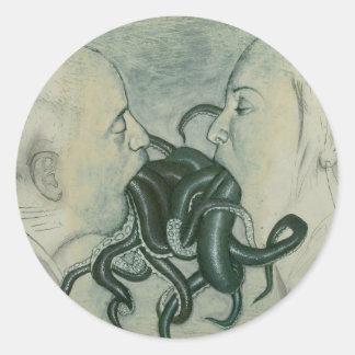 tentacles sticker