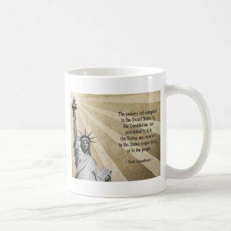 Tenth Amendment Basic White Mug