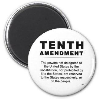 Tenth Amendment Fridge Magnet