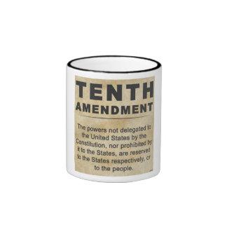 Tenth Amendment Ringer Mug