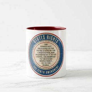 Tenth Amendment Two-Tone Mug