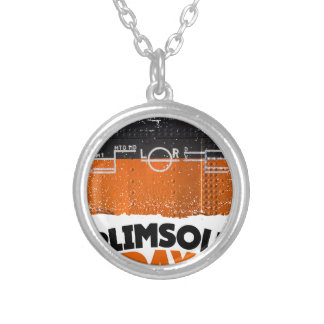 Tenth February - Plimsoll Day - Appreciation Day Silver Plated Necklace