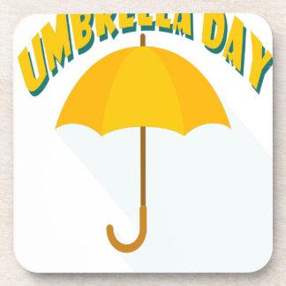 Tenth February - Umbrella Day - Appreciation Day Coaster