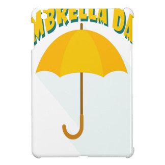 Tenth February - Umbrella Day - Appreciation Day iPad Mini Cover