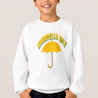 Tenth February - Umbrella Day - Appreciation Day Sweatshirt