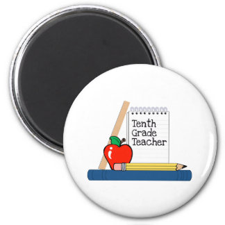 Tenth Grade Teacher (Notebook) Magnets