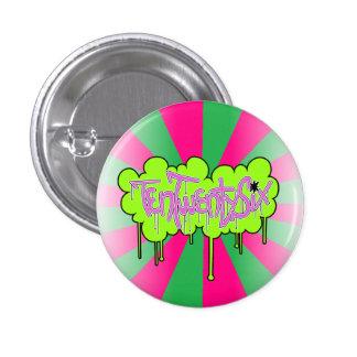TenTwentySix Badge - Pink Green - Button