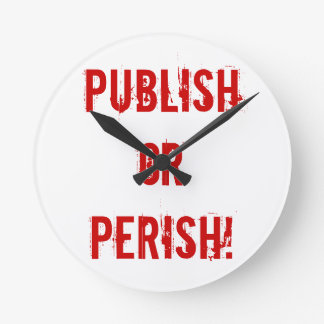 Tenure Clock - Publish or Perish