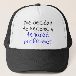 tenured professor trucker hat