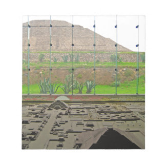 Teotihuacan - Sun Pyramid and Museum Notepad