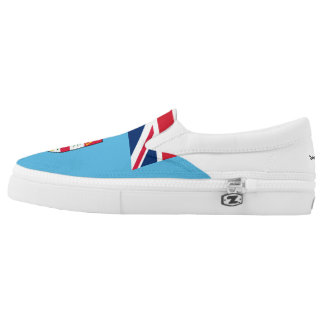 TEPOLA FIJI FLAG PRINTED SHOES